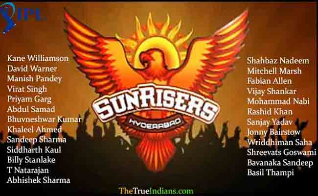 sunrisers-hyderabad-full-squad