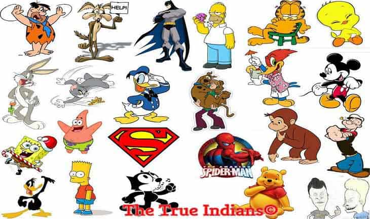 100 Best Cartoon Characters Of Television The True Indians